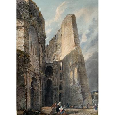 Les Ruines Du Colisée à Rome
