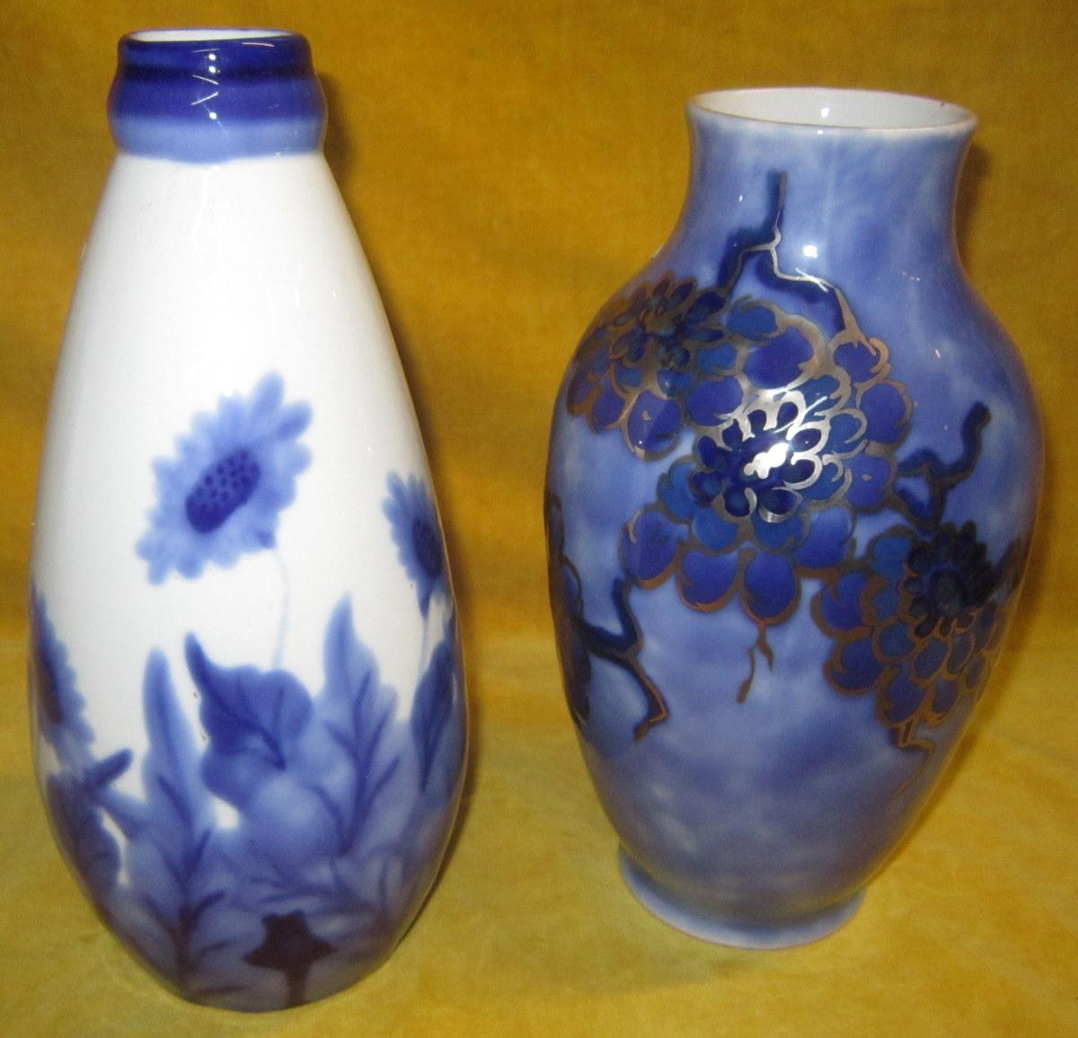 vases porcelaine de limoges c tharaud art d co objets d coration vases en porcelaine. Black Bedroom Furniture Sets. Home Design Ideas