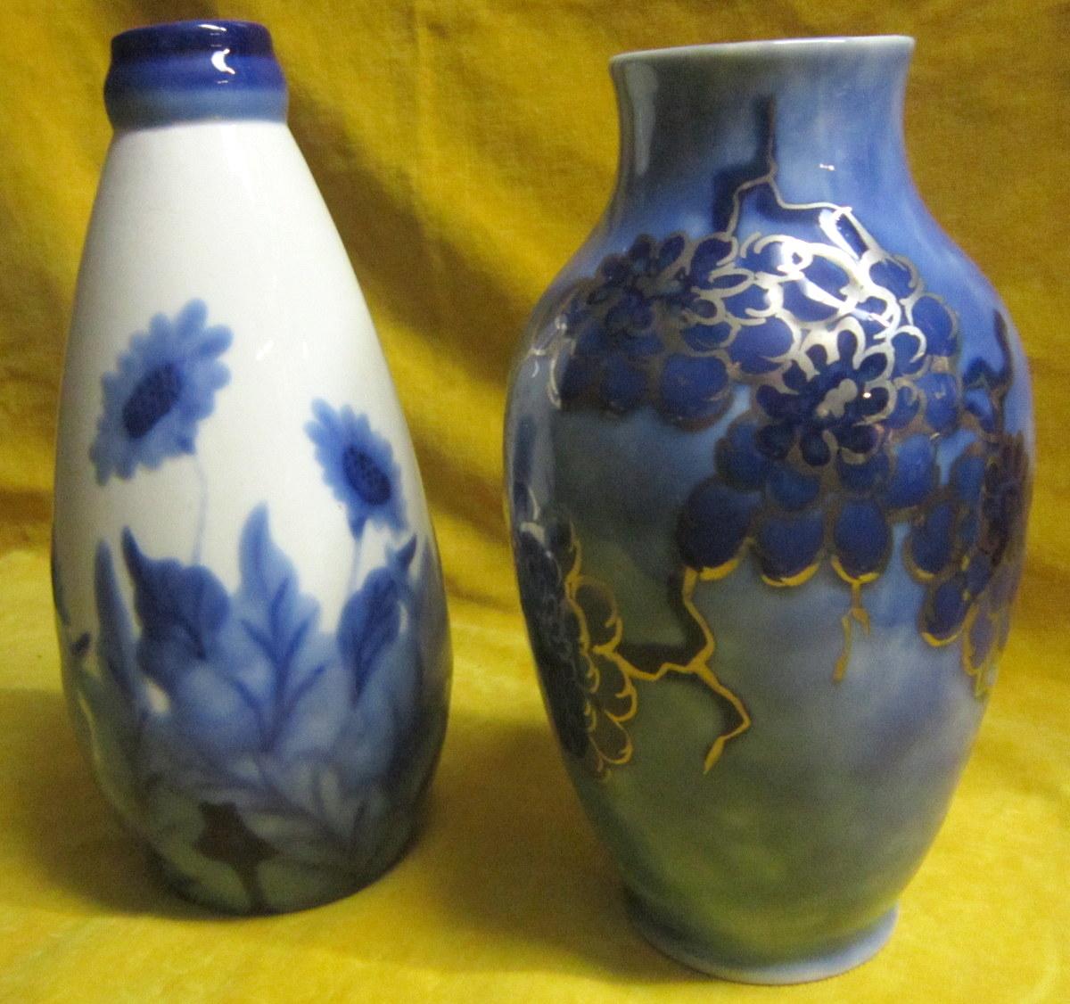 vases porcelaine de limoges c tharaud art d co porcelaines anciennes. Black Bedroom Furniture Sets. Home Design Ideas