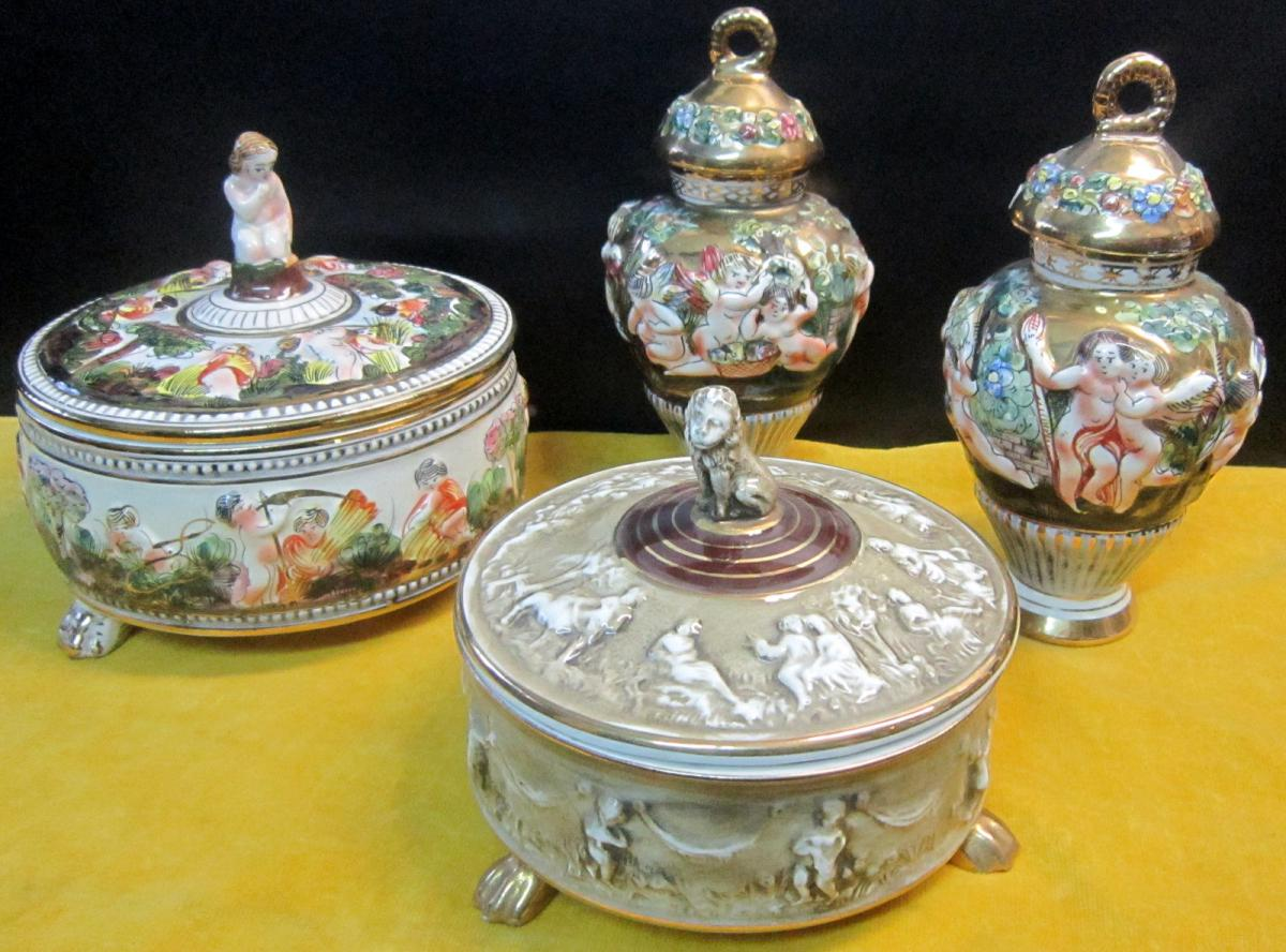 Porcelaines Capodimonte Italy 1950-70