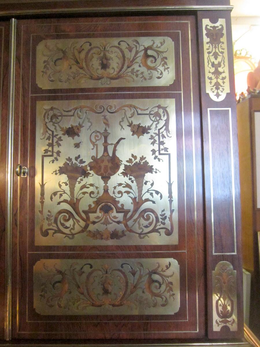 Bureau Bonheur Du Jour Secretaire Napoleon Iii Style Lxiv