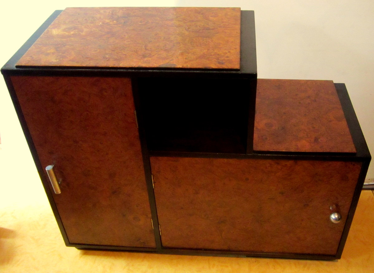 Breakfast Buffet At Recess Modernist Art Deco Burr Elm