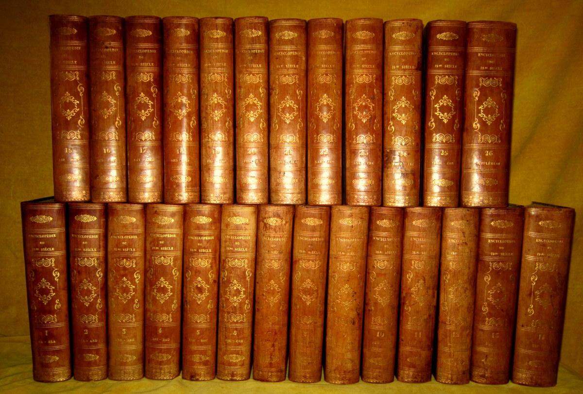 Encyclopédie Des Sciences Des Lettres Et Des Arts Et Hommes Celébres 1851