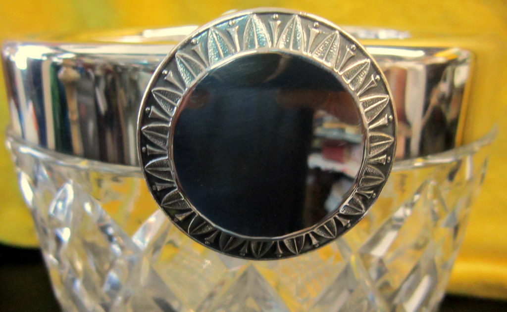 Seau à Champagne Bac à Glaçons Cristal -photo-2