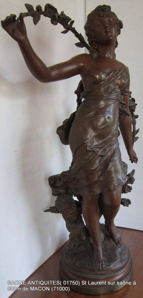 Sculpture Bronze d' Auguste Moreau