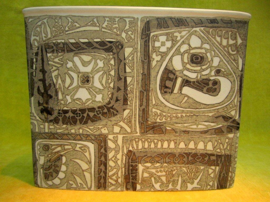 Vase Centre de table Bouquetière Céramique Scandinave ''BACA''1964 de Nils THORSSON (1898-1977)