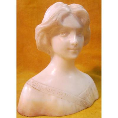 Buste Jeune Fille 1900