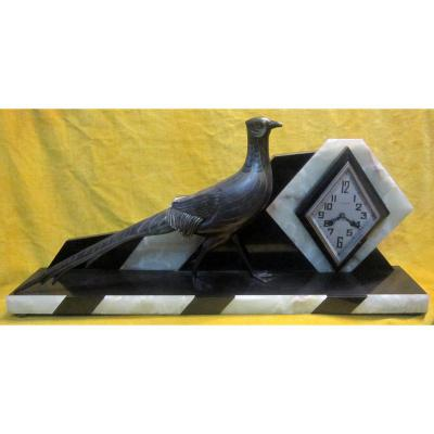Grande Pendule Art Déco 1920-30