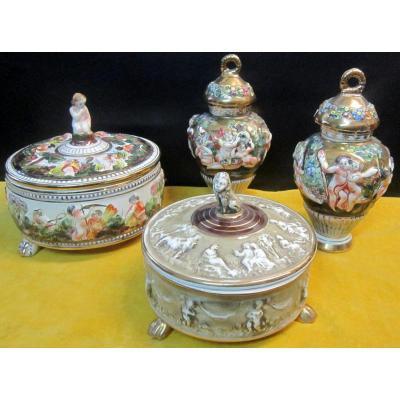 Porcelain Capodimonte Italy 1950-1970