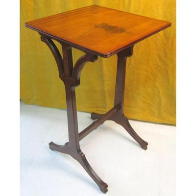 Petite Table Selette Gallé Art Nouveau Ecole De  Nancy