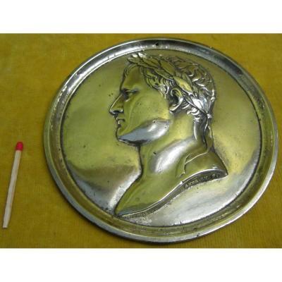 Grande Médaille Bronze Napoléon 1er  Par Andrieu (1761-1812)