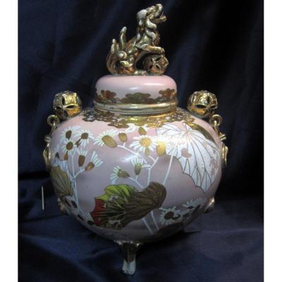 Brûle Parfum Satsuma  Japon Impériale Meiji 19éme