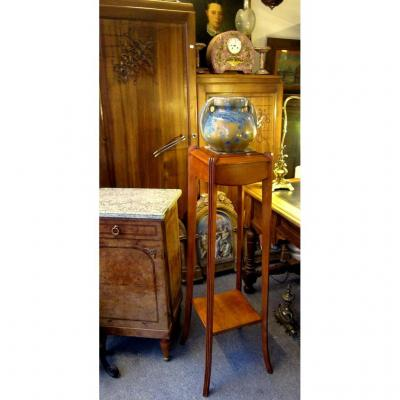 Bolster Support Art Deco Console 1930- 1940 Fruit Tree