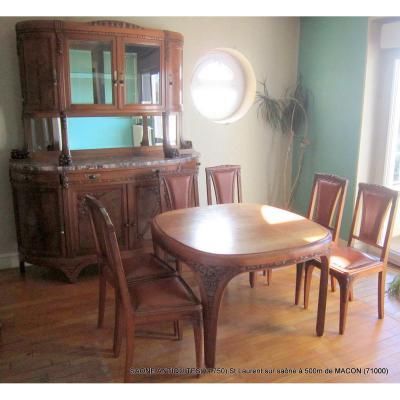 Autre meuble ancien sur proantic art d co 20 me si cle for Salle a manger annee 60