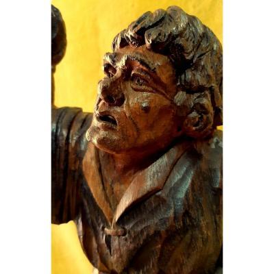Sculpture Quasimodo The Hunchback In Love With Esmeralda Notre Dame De Paris By Victor Hugo Year 30