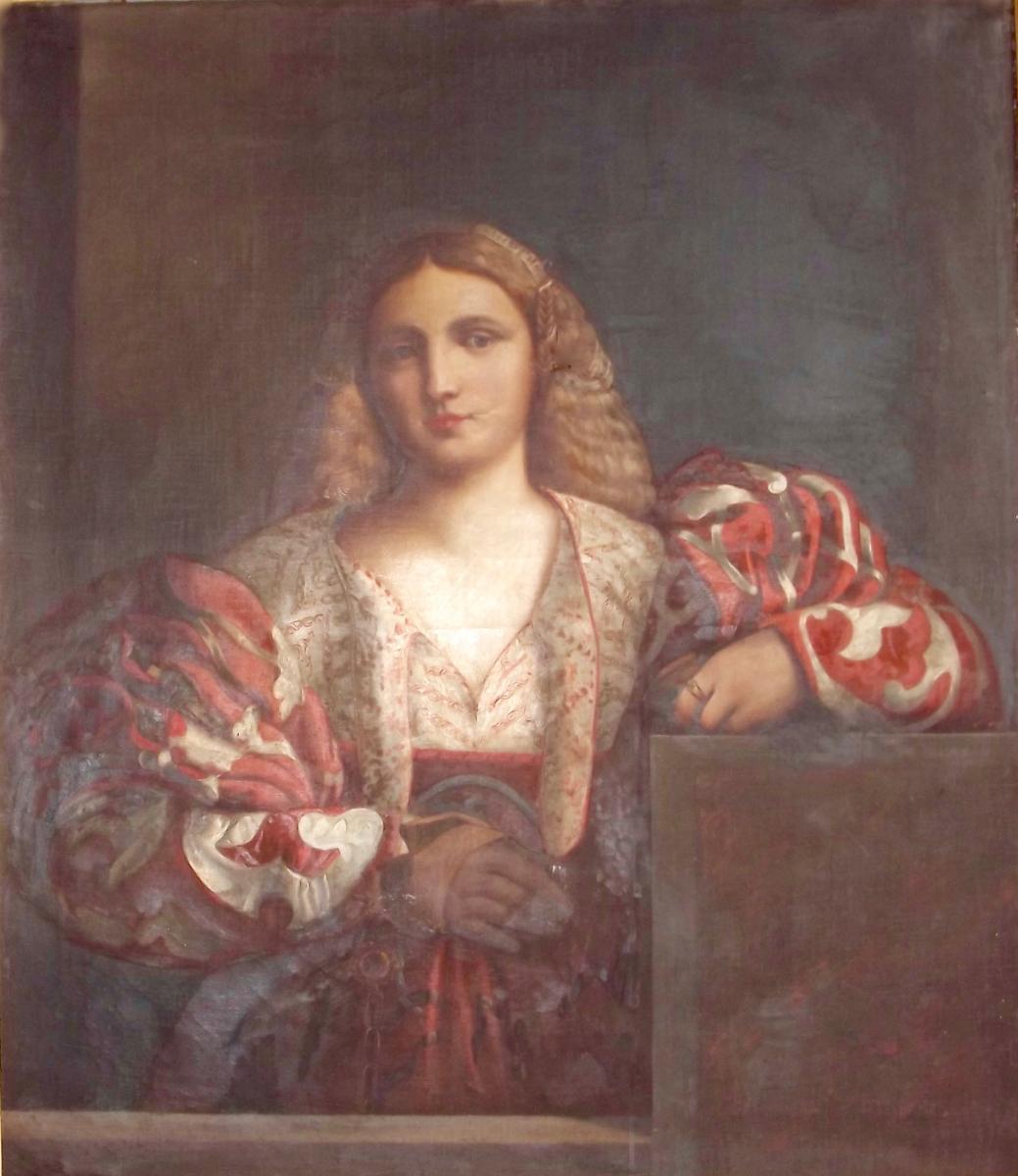 Portrait d'une belle Italienne-photo-2