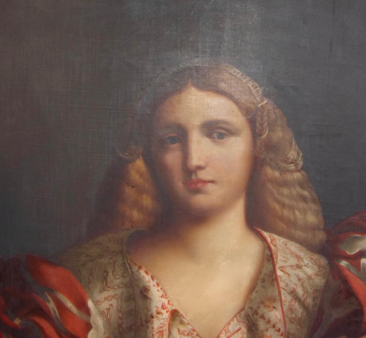 Portrait d'une belle Italienne-photo-1