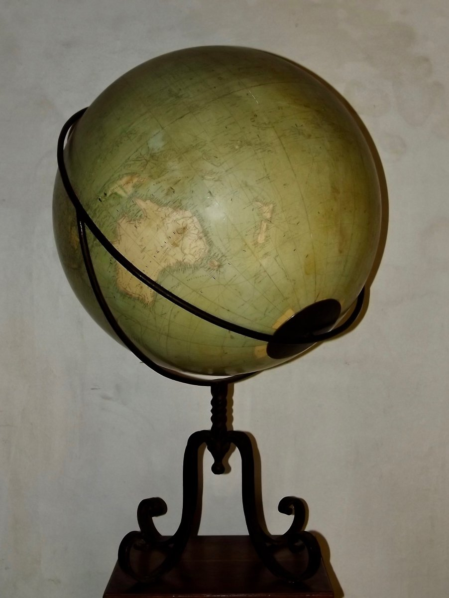 Globe terrestre de parquet-photo-1