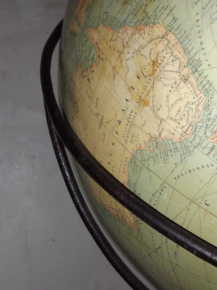 Globe terrestre de parquet-photo-5
