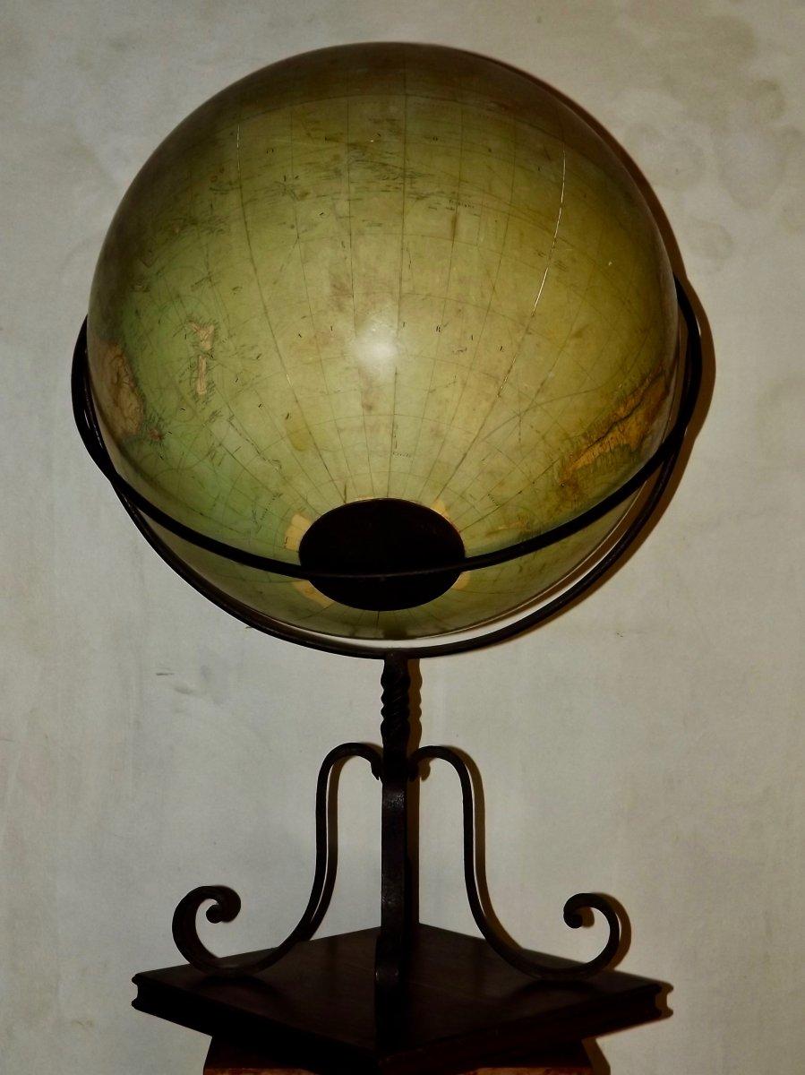 Globe terrestre de parquet-photo-6