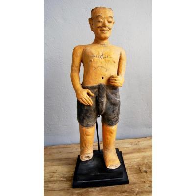 Chinese Terracotta Statue