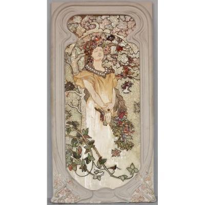 Panneau décoratif Art-Nouveau