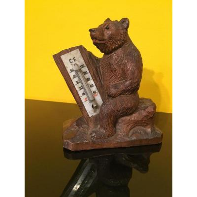 Black Forest Bear Barometer
