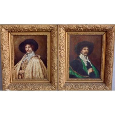 Pair Of Nineteenth Portraits