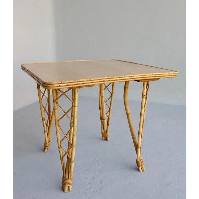 Table ''Audoux Minet''
