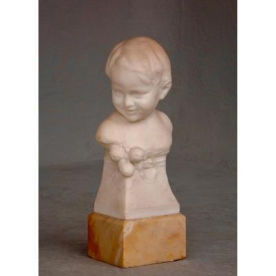 Buste en marbre XIXe