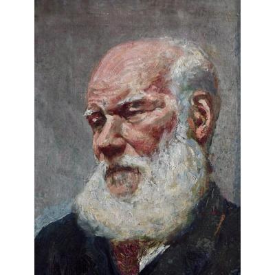Portrait d'un homme à la barbe