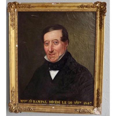 Portrait d'homme XIXe
