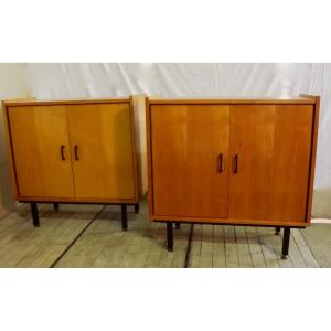 Pair Of Commodes 1960