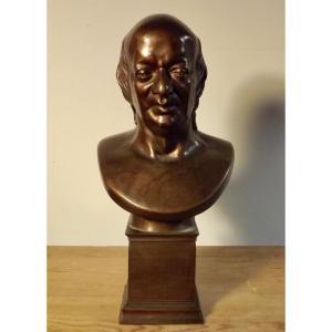 Buste de Pierre-Jean de Béranger