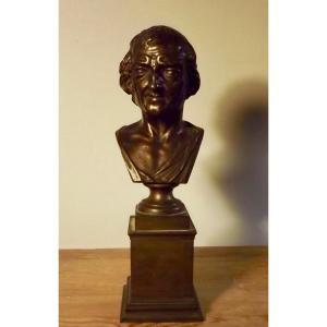 Buste de Voltaire XIXe