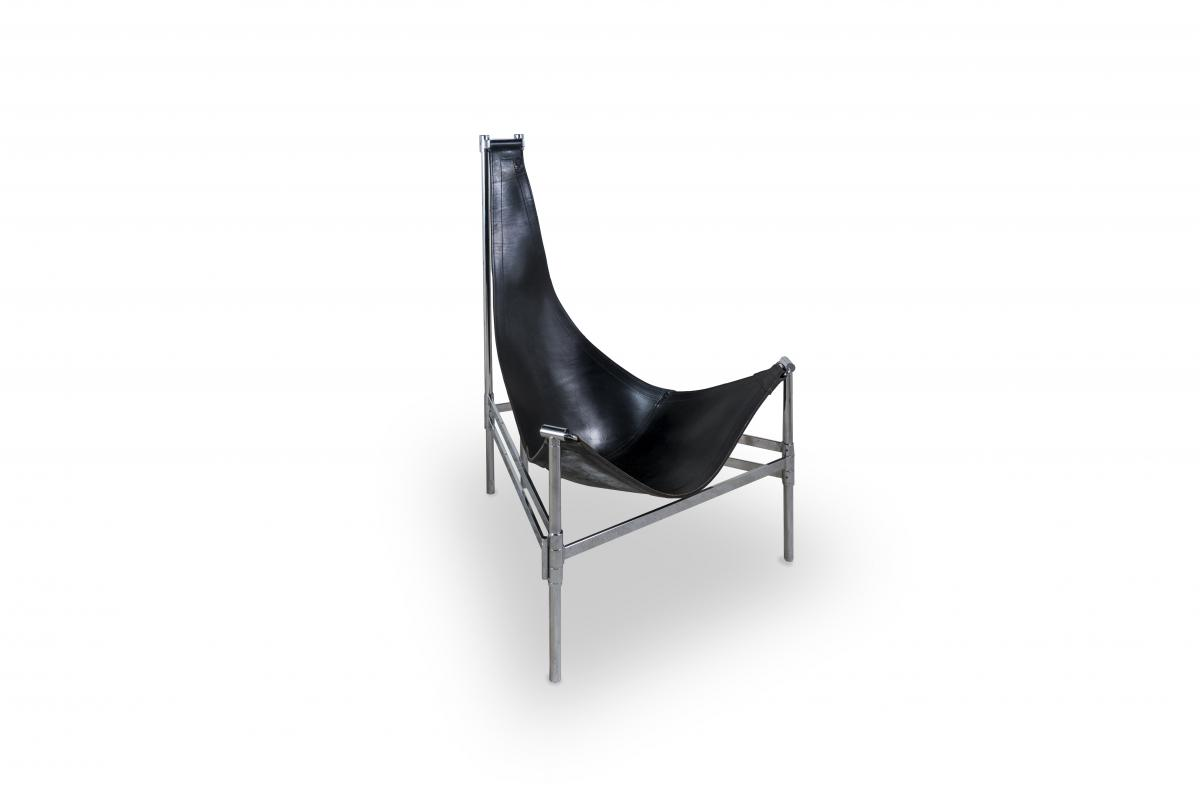 Very Large Swedish Yacht Easy Chair  H. 128