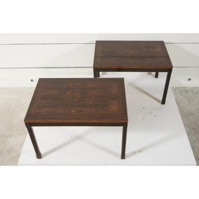 Pair Of Rosewood Coffee Tables 1960