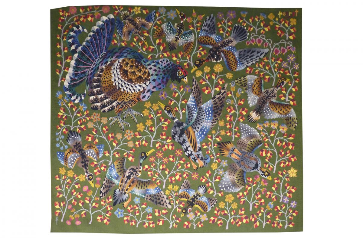 René Perrot - La Ronde-aubusson Tapestry