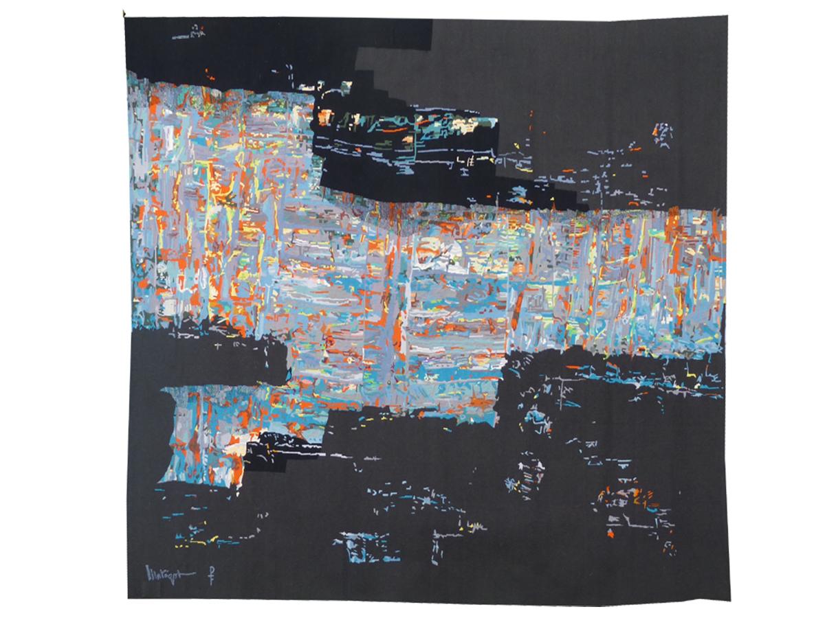 Mathieu Matégot-shadows And Lights-aubusson Tapestry