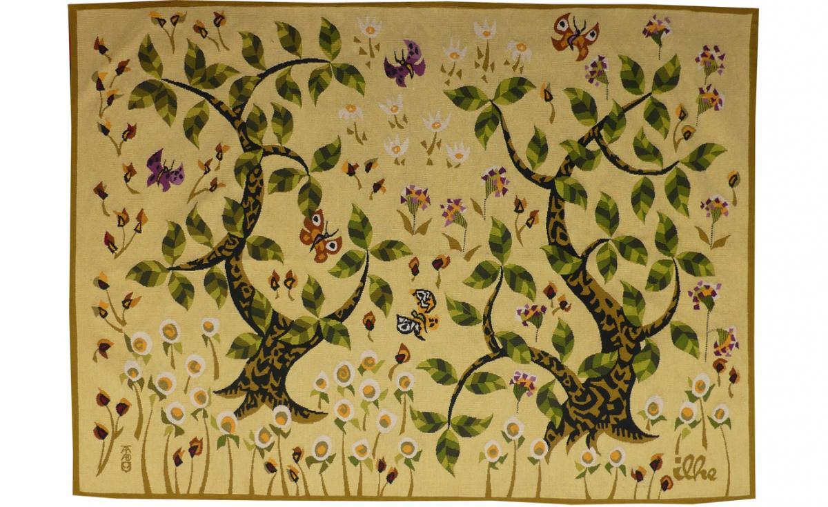 Henri Ilhe-petit Bois-tapisserie d'Aubusson