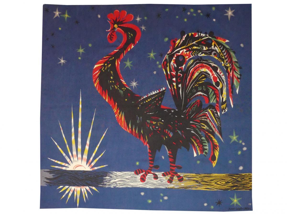 Marc Saint Saëns - Le Réveille-matin-tapisserie