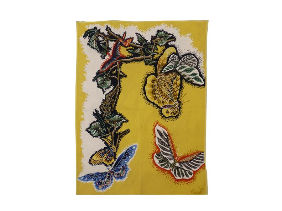 Jean Lurçat- Butterflies-tapestry Aubusson