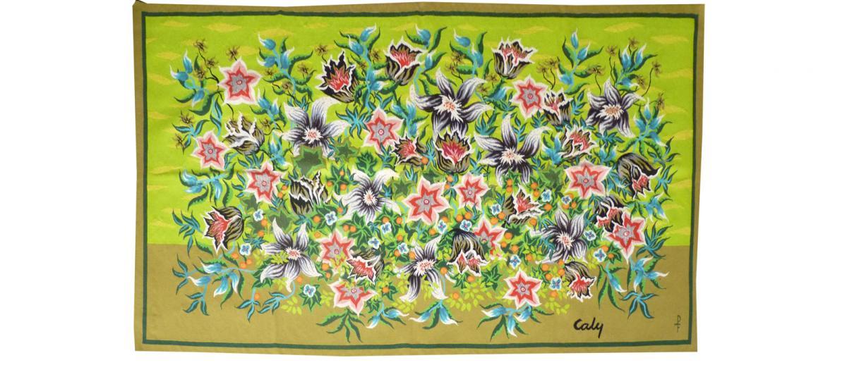 Odette Caly- Solaire- Tapisserie d'Aubusson