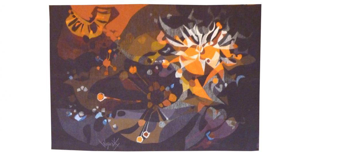 Robert Wogensky - Vega -tapisserie d'Aubusson