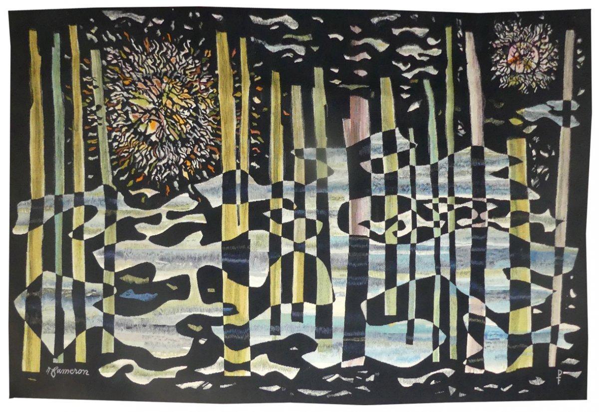 René Fumeron-mirage-tapisserie d'Aubusson