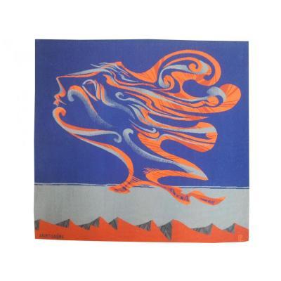 Marc Saint Saëns -nuage -tapisserie d'Aubusson
