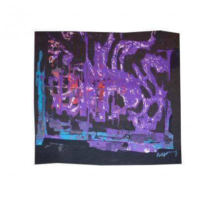Mathieu Matégot-la Flamme -tapisserie