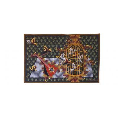 Jean Picart Le Doux - Le Luth Et Les Colombes - Tapisserie d'Aubusson