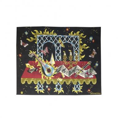 Jean Picart The Sweet - Tribute To Mozart - Aubusson Tapestry