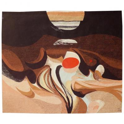 André Borderie-eaux Vives-tapisserie d'Aubusson